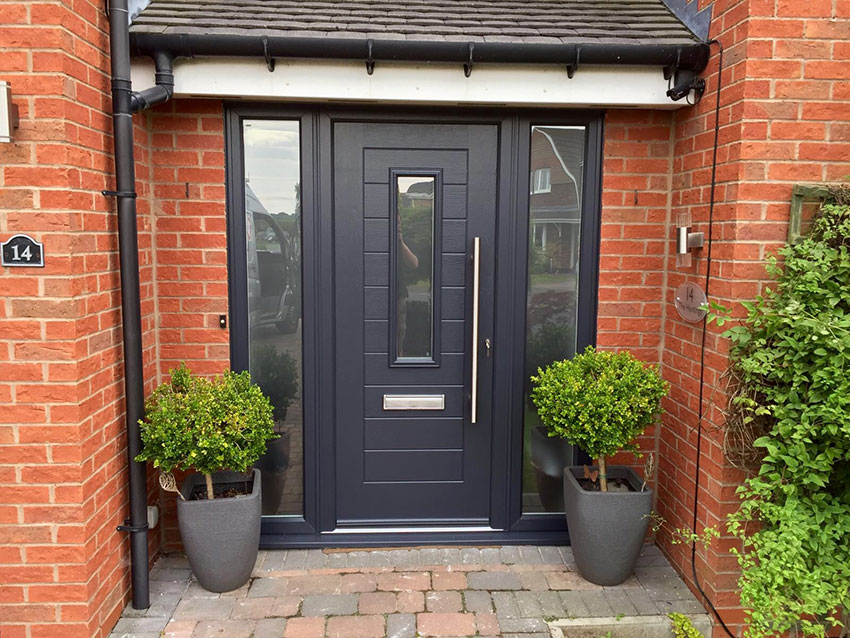 Cms doors endurance timber core composite front doors for Composite front doors