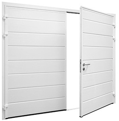 Hormann side hinged for Side by side garage doors