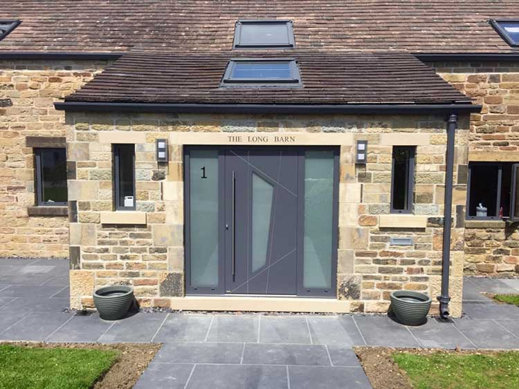 RK 4060 - Slate Grey RAL 7015 & CMS front doors photo gallery RK Doors Endurance u0026 Hormann
