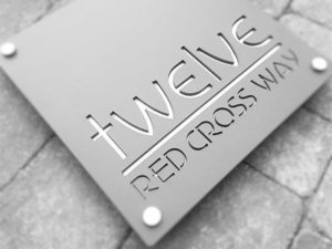 House sign bespoke - Red Cross Way