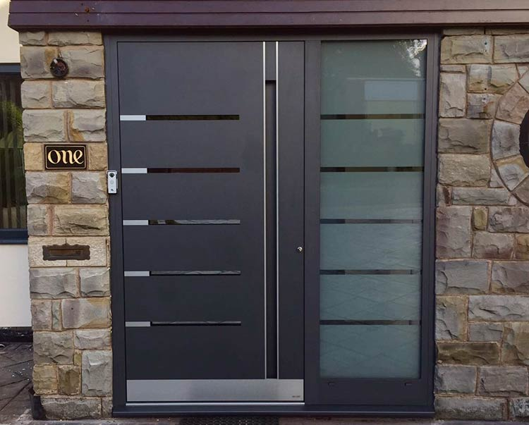 R K5130 Bespoke door - DB 703 & CMS front doors photo gallery RK Doors Endurance u0026 Hormann