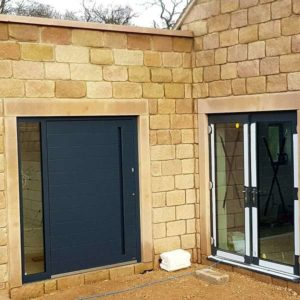 RK Pivot Door - RK3300 - Anthracite Grey