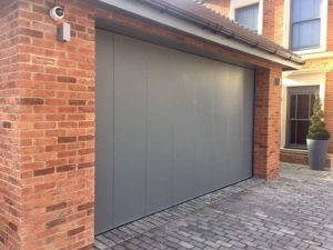 Ryterna Side Sliding Garage Door - Mouse Grey RAL 7005