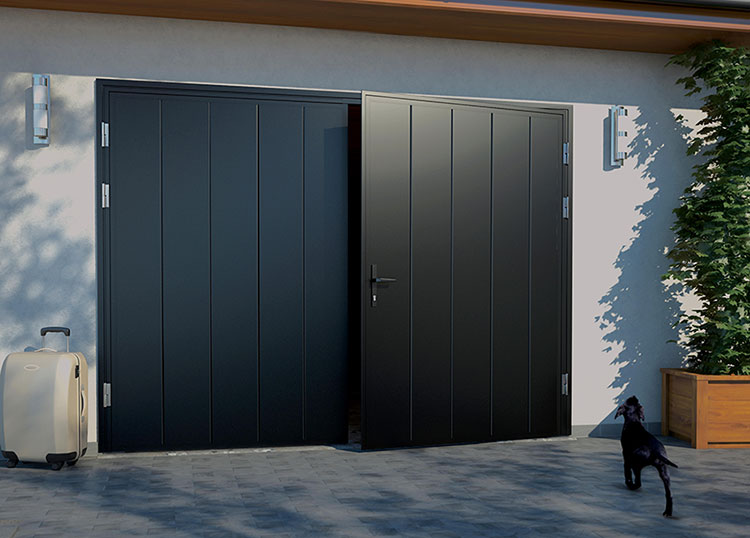 Ryterna SHD Side Hinged Garage doors | CMS Garage Doors