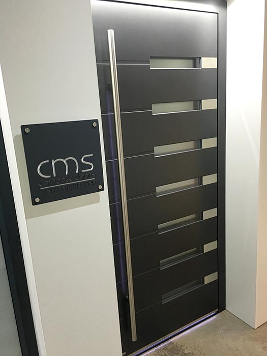 Bespoke house signs - CMS Doors