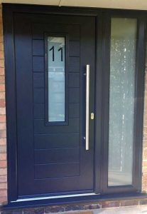 Endurance Doors Alto Anthracite grey