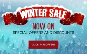 Front door winter sale
