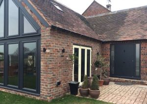 View of house - RK5220 front door - Anthracite Grey