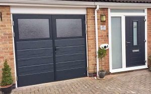 View of House - Ryterna SHD & Endurance front door - Anthracite Grey