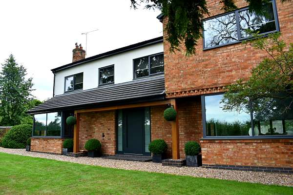 View of house - RK 990 - Anthracite grey