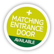 matching entrance door