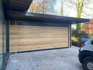 Ryterna - Overclad sectional with larch