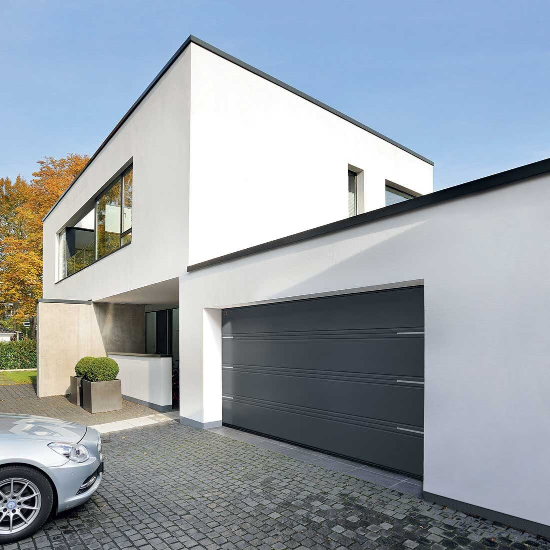 Hormann modern garage door